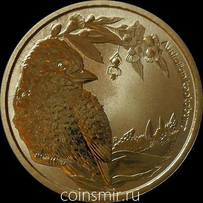 1 доллар 2013 Австралия. Австралийская кукабура.