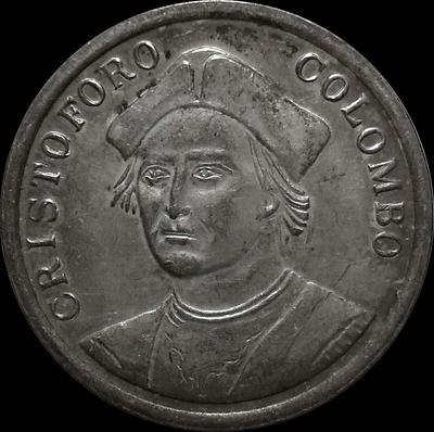 Жетон. Христофор Колумб.