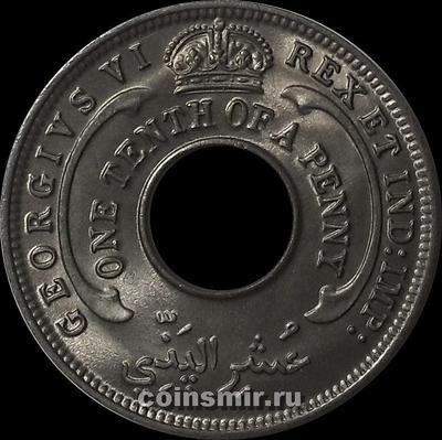 1/10 пенни 1946 Британская западная Африка.