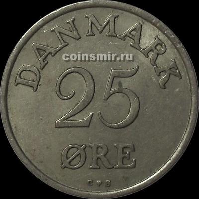 25 эре 1956 Дания.