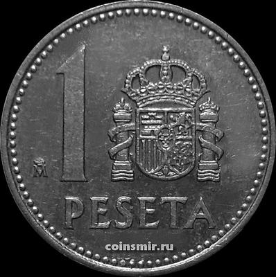 1 песета 1984 Испания.