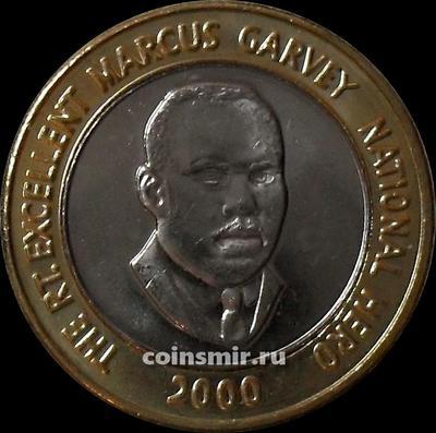 20 долларов 2000 Ямайка.