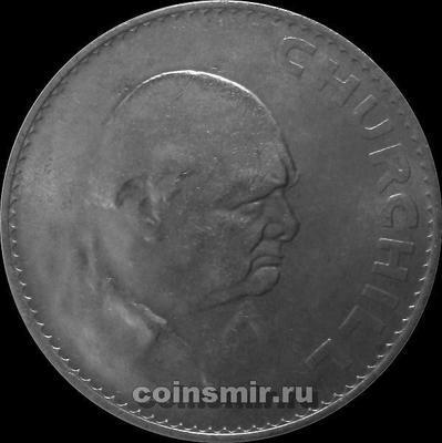 1 крона 1965 Великобритания. Черчилль.