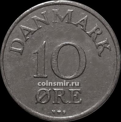10 эре 1949 N;S Дания.