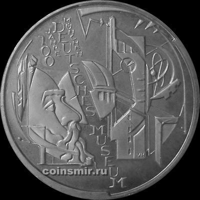 10 евро 2003  Германия. 100 лет немецкому музею в Мюнхене.