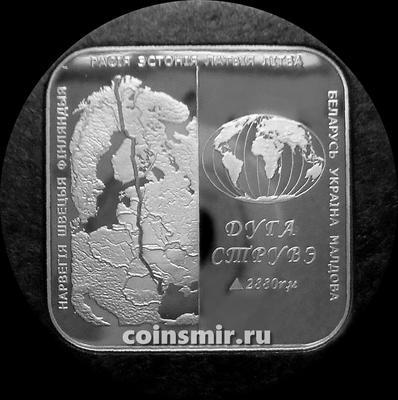 1 рубль 2006 Беларусь. Дуга Струве.