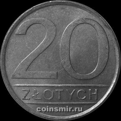 20 злотых 1984 Польша.