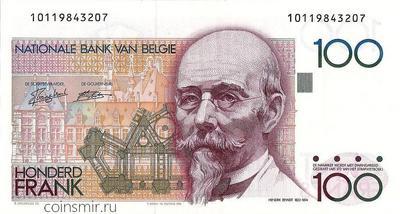100 франков 1982-1994 Бельгия.