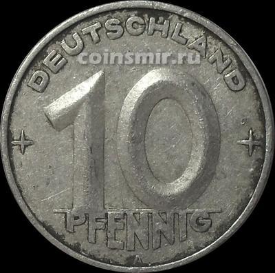 10 пфеннигов 1952 А Германия ГДР.