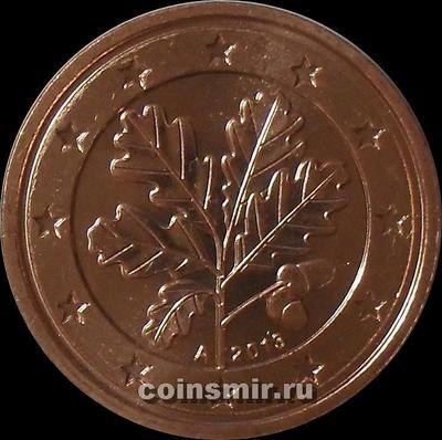 2 евроцента 2013 А Германия.