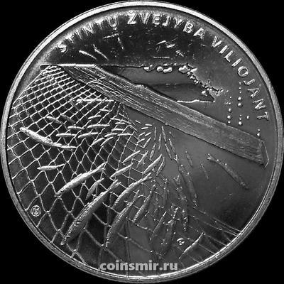 1,5 евро 2019 Литва. Ловля корюшки.