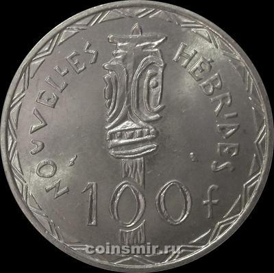 100 франков 1966 Новые Гебриды.