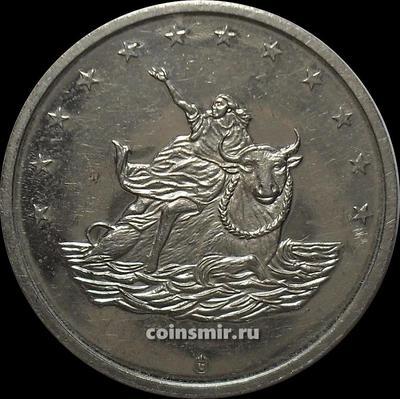 Жетон 10 евро 1998 Европа.