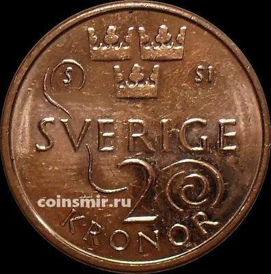 2 кроны 2016 Швеция.