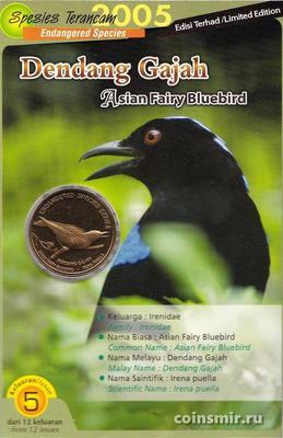 25 сен 2004 (2005) Малайзия. Азиатская фея Синяя птица.