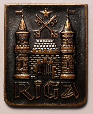 Значок Рига Латвия.