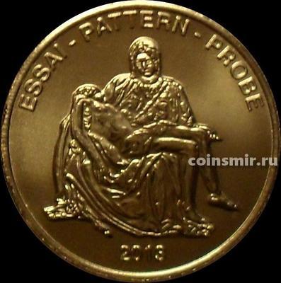 20 евроцентов 2013 Ватикан. Европроба. Xeros-ceros.