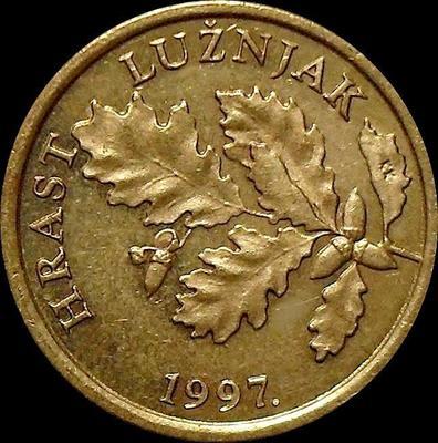 5 лип 1997 Хорватия. Дубовые листья.