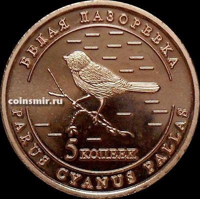 5 копеек 2013 Удмуртия. Белая лазоревка.