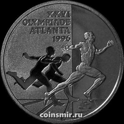 1 экю 1996 Нидерланды. Олимпиада в Атланте 1996.