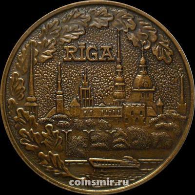 Настольная медаль Город Рига, Латвия.