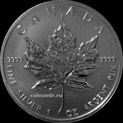 5 долларов 2011 Канада. Кленовый лист.