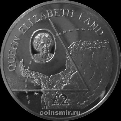 2 фунта 2013 Британская Антарктическая территория. Земля королевы Елизаветы.