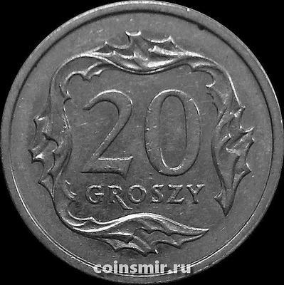 20 грошей 2004 Польша.