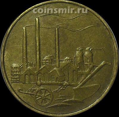 50 пфеннигов 1950 А ГДР.