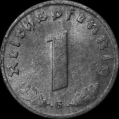 1 пфенниг 1940 G Германия. Третий рейх.