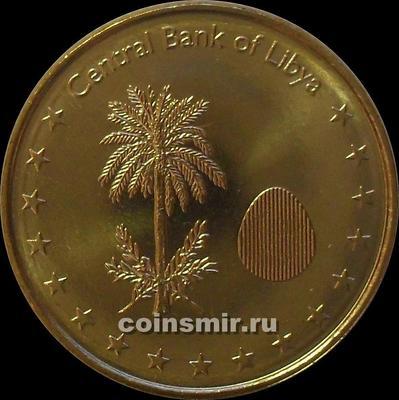 1/4 динара 2014 Ливия.