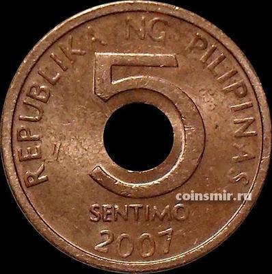 5 сентимо 2007 Филиппины.