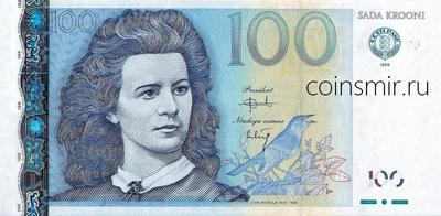 100 крон 1999 Эстония.