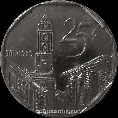 25 сентаво 2006 Куба.