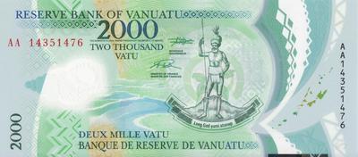 2000 вату 2014 Вануату.