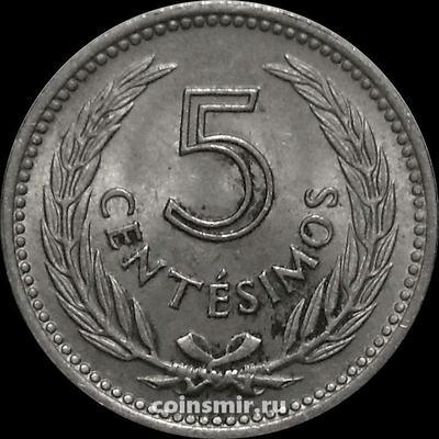 5 сентесимо 1953 Уругвай.