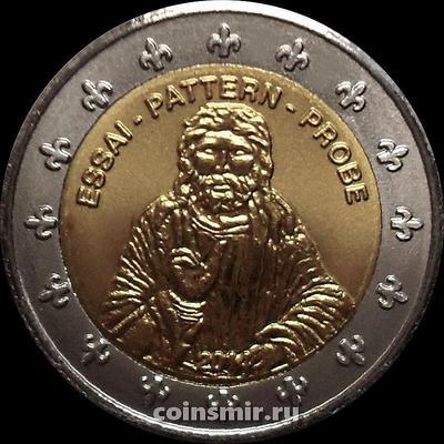 2 евро 2014 Андорра. Европроба. Xeros.