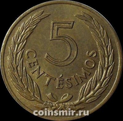 5 сентесимо 1960 Уругвай.