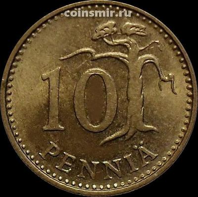 10 пенни 1981 К Финляндия.