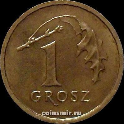1 грош 2001 Польша.