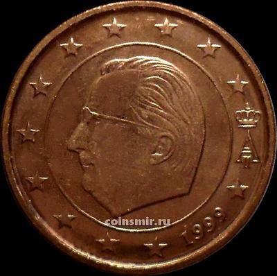 5 евроцентов 1999 Бельгия. Король Бельгии Альберт II.