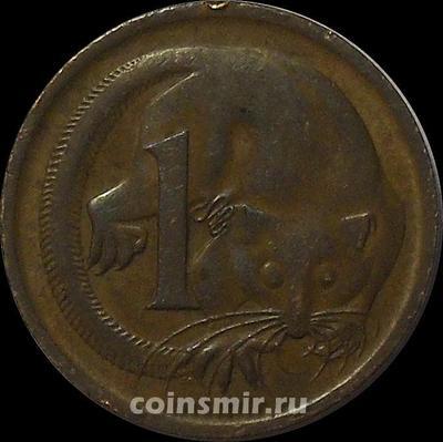 1 цент 1966 Австралия. Карликовый летучий кускус.