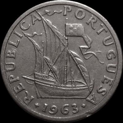 2,5 эскудо 1963 Португалия.