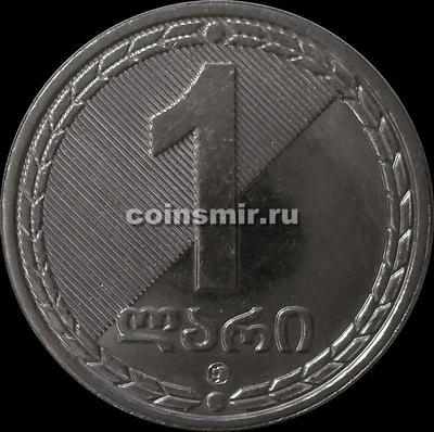 1 лари 2006 Грузия. UNC