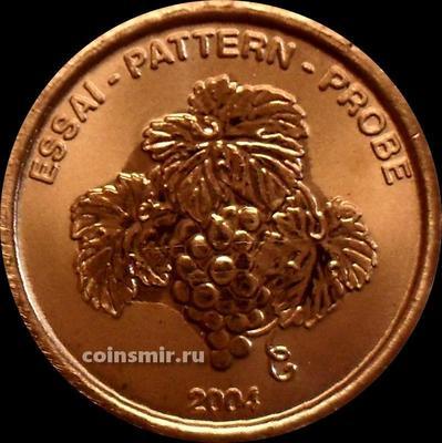 2 евроцента 2004 Лихтенштейн. Европроба. Ceros.