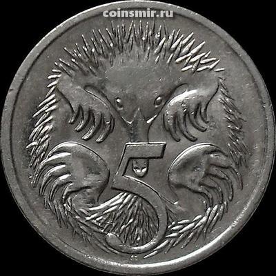 5 центов 2007 Австралия. Ехидна.