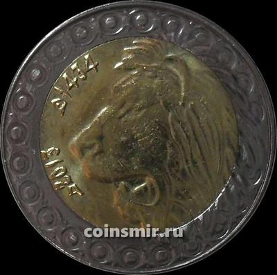 20 динаров 2013 Алжир. Лев. (в наличии 2018 год)