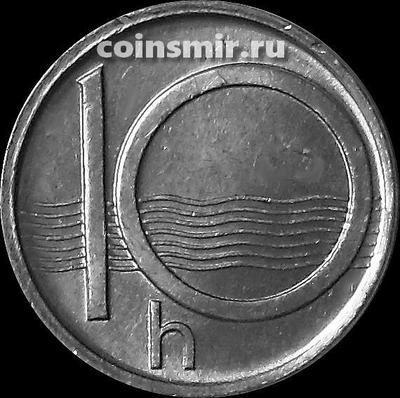10 геллеров 1994 Чехия.