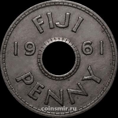 1 пенни 1961 Фиджи.