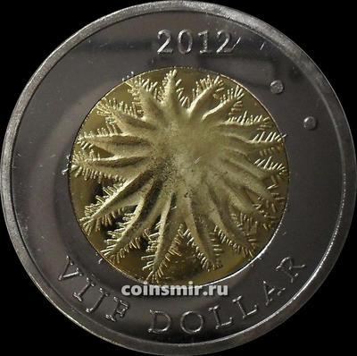 5 долларов 2012 остров Саба.